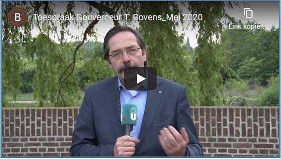 Toespraak  Gouverneur  T. Bovens_Mei 2020