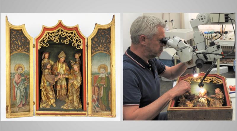 Maria-expositie en restauratieproject