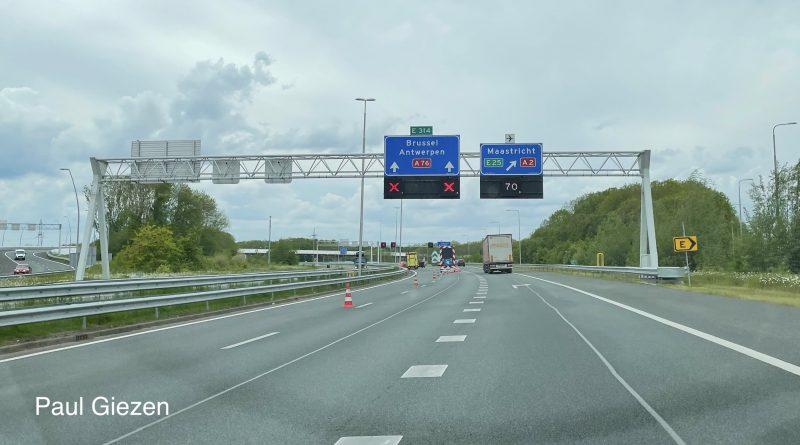 Foto: Paul Giezen Wegafsluiting A76